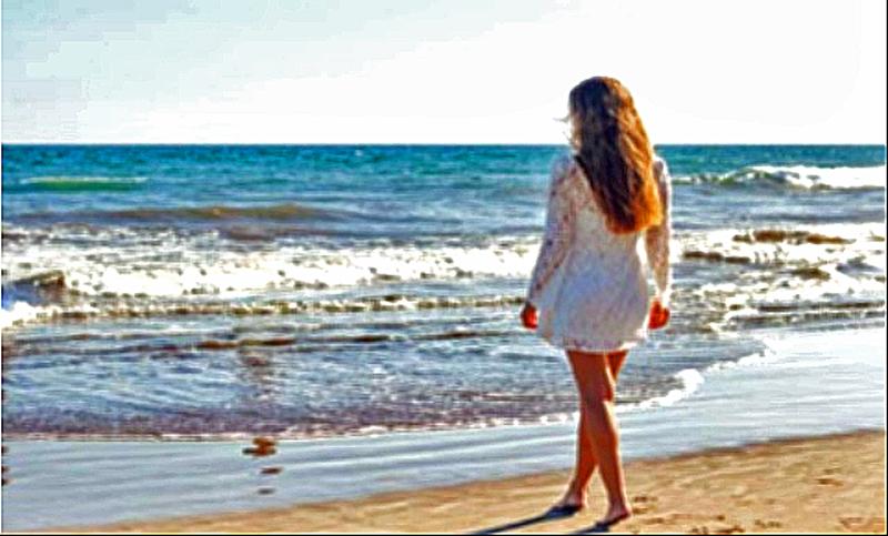 Mode am Strand