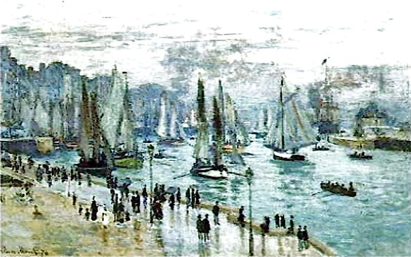 Claude Monet, Le Havre