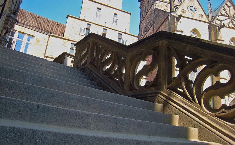 Rathaustreppe in Osnabrück