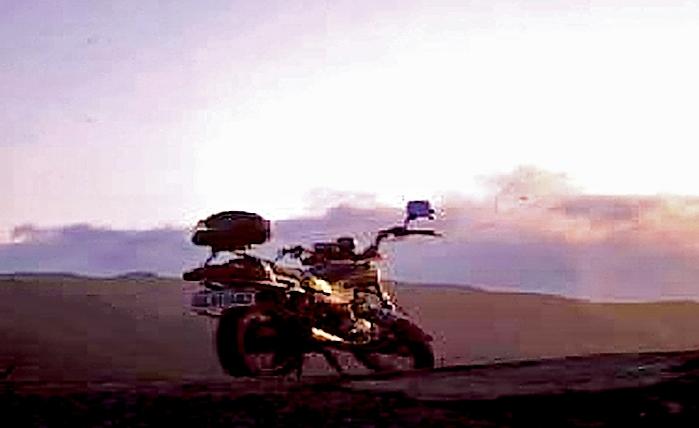 Pause auf der Wüstenpiste